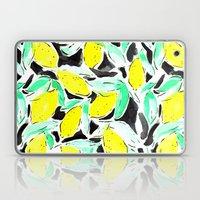 Bold Lemons Black Laptop & iPad Skin