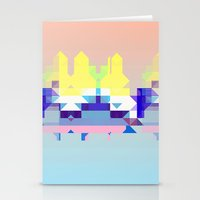 Summer City Stationery Cards