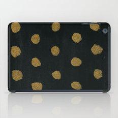 GOLD DOTS iPad Case