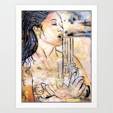 Caliber Love #4  Art Print