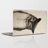 Owl Sketch Laptop & iPad Skin