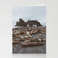 Ruby Beach Stationery Cards