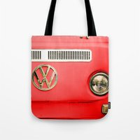 Summer of Love - Adventure Red Tote Bag