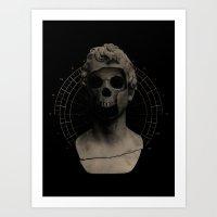 Art Print featuring Sum Quod Eris by Eric Zelinski