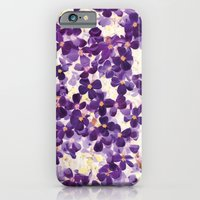 iPhone & iPod Case featuring Violet Bloom by Amy Sia
