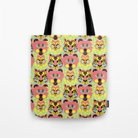 Modular Lions And Tigers… Tote Bag