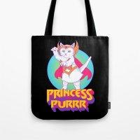 Princess of Purrr Tote Bag