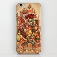 Final Fantasy IX iPhone & iPod Skin