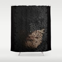 You Are Who You Beat. Shower Curtain