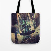 Power Trip Tote Bag