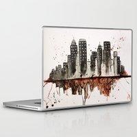 nyc Laptop & iPad Skins featuring NYC by Rosalia Mendoza