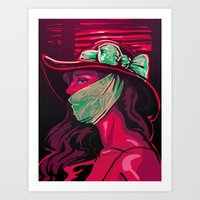 Invisible Monster Art Print
