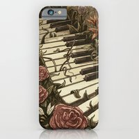 Piano and Flowers iPhone 6 Slim Case