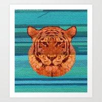 El Tigre Art Print