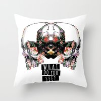 What Do You See? Throw Pillow