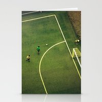 Kids Are Playing Footbal… Stationery Cards