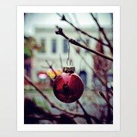 Street ornament Art Print