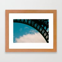 Detail of Eiffel. Framed Art Print