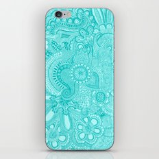 millions aqua iPhone & iPod Skin