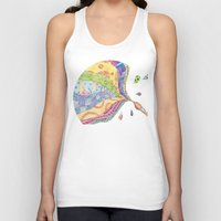 The Painted Quilt Unisex Tank Top