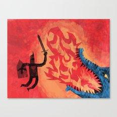Final Blow, Canvas Print