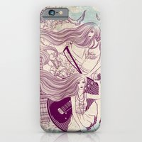iPhone & iPod Case featuring Music, Love, Peace by Vivian Lau