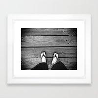 The Path I Walk Framed Art Print