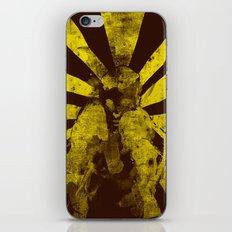 distressed  boxer iPhone & iPod Skin