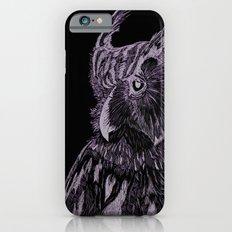 Inverted Horned Owl iPhone 6 Slim Case