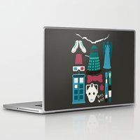 doctor who Laptop & iPad Skins featuring Doctor Who by Abbie Imagine