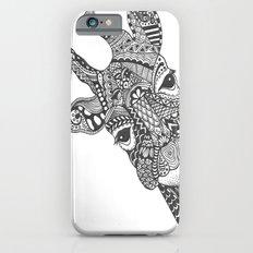 Zentangle Giraffe iPhone 6s Slim Case