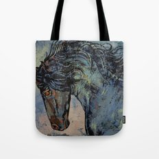 Friesian Stallion Tote Bag