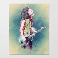 Born To Be Wild Canvas Print
