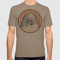 Animal. Mens Fitted Tee Tri-Coffee SMALL