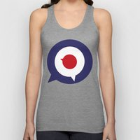 Mod thoughts Unisex Tank Top