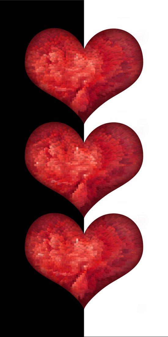 Heart Design 101 Art Print