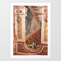 Inner Cities: Hall Of Th… Art Print
