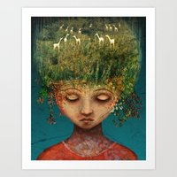 Quietly Wild Art Print