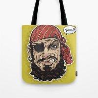 Yarg Pirate! Tote Bag