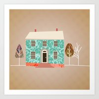 Home Is Where The Art Is… Art Print