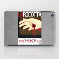 La Ricotta iPad Case