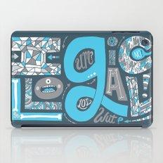Illogical iPad Case