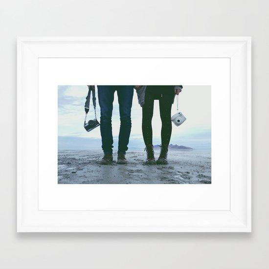 Adventure Love Framed Art Print