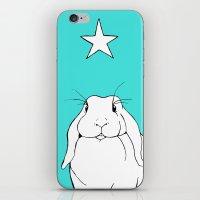 Star Bunny Cool iPhone & iPod Skin