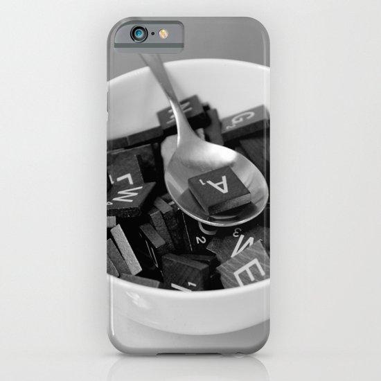 Alphabet Soup iPhone & iPod Case
