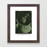 Alien Movie Poster Framed Art Print
