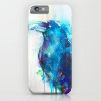 iPhone & iPod Case featuring RAVEN  by Slaveika Aladjova