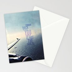 coming back - android case Stationery Cards