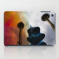 Space Needle Reflection iPad Case