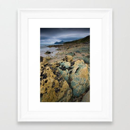 A Blanket of Sky Framed Art Print